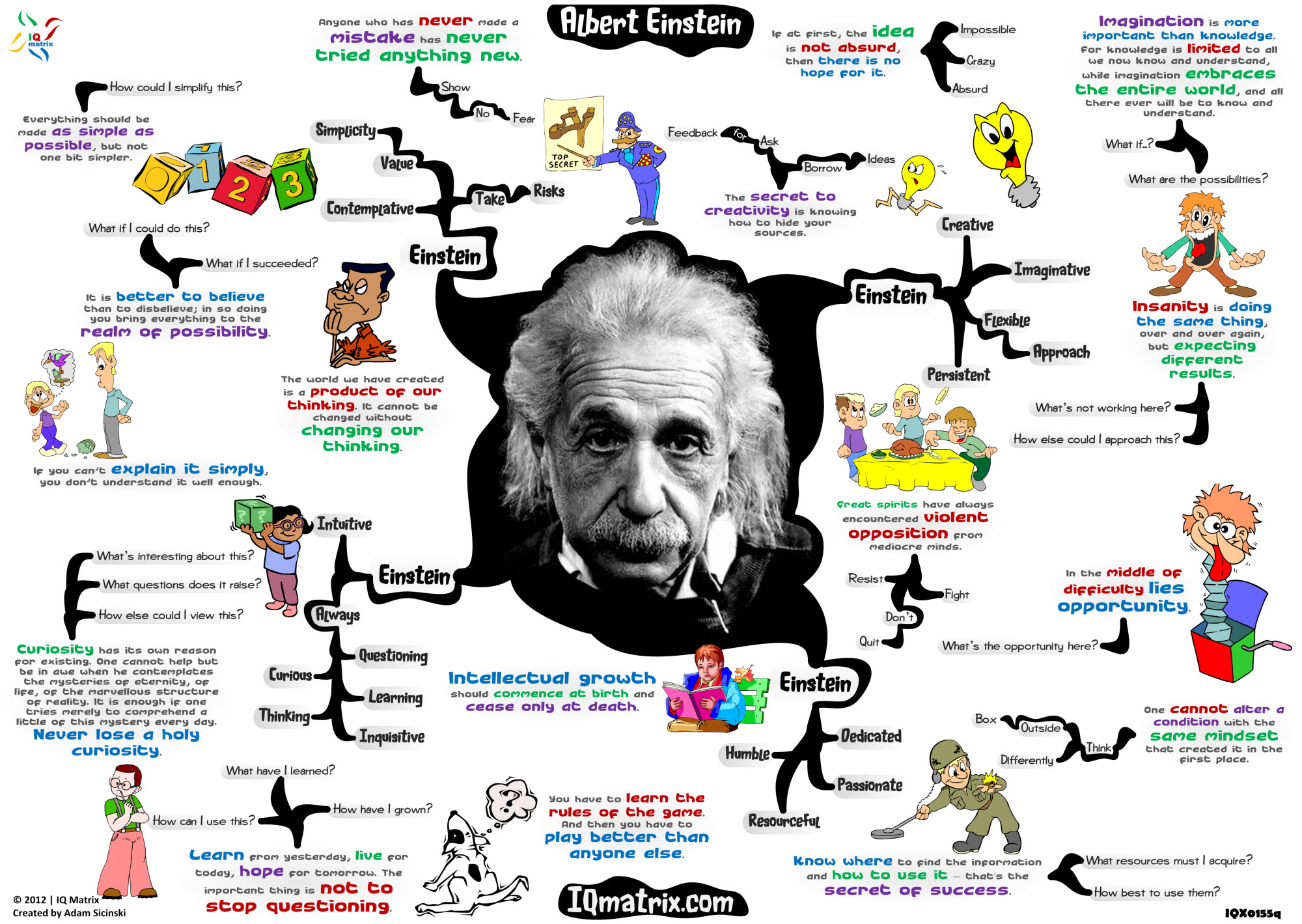 essay on imagination is better than knowledge